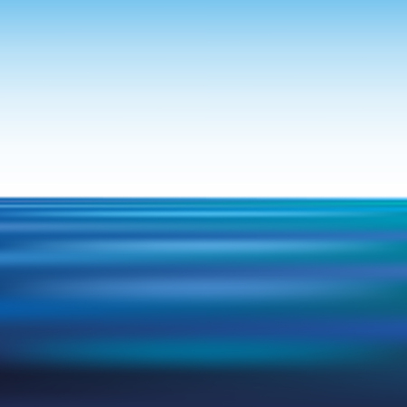 sea water: ripples on water in the infinite sea