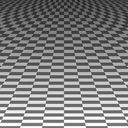 long term: cuadrados en el largo plazo sobre un fondo gris