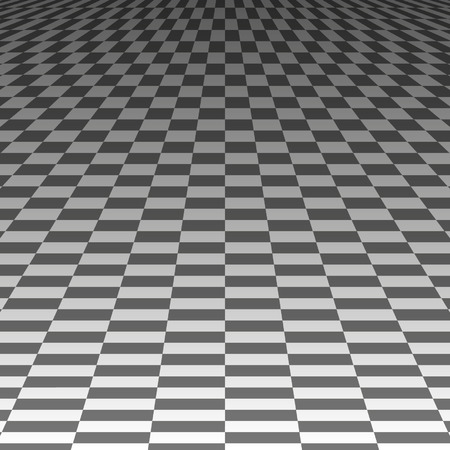long term: squares in the long term on a gray background