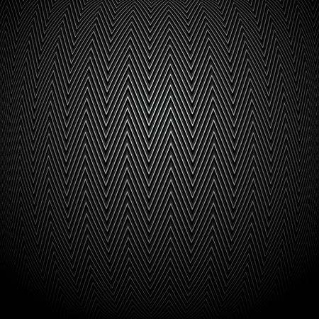 patch of light: ornamento convessa su sfondo nero Vettoriali