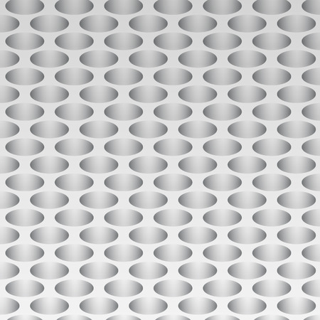 holes: paper holes on a gray background Illustration