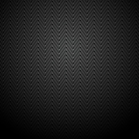 black pattern: black ornament on a black background Illustration