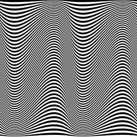 gray strip: vintage volume pattern on a gray background Illustration