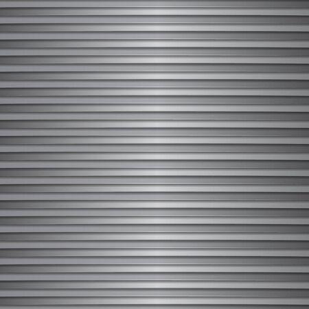 on white: gray and white strips Illustration