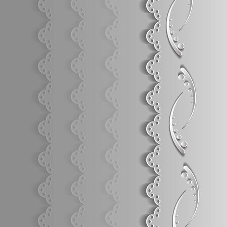 gray: gray laces on a gray background