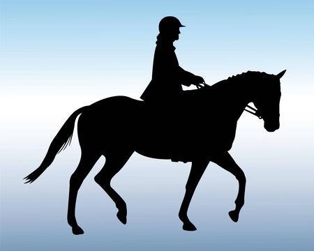 equestrian - vector Vector