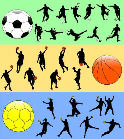sport mix - vector