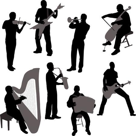 musicians - vector