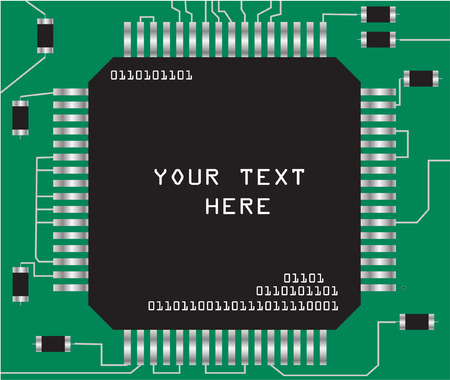 component: chip - vector