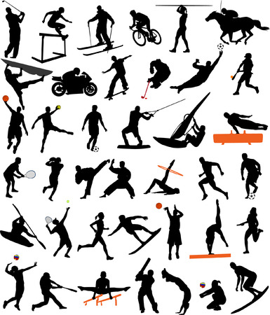 sport collection - vector Vector