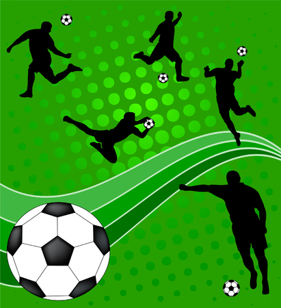 soccer - vector Stock Vector - 4977660