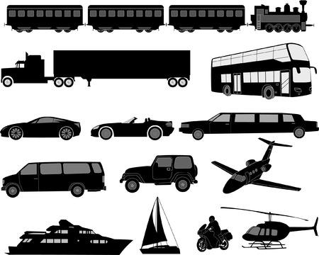 helicopters: tranasportation - vector