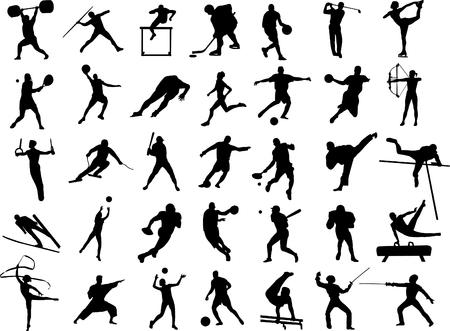 sport collection - vector Vector