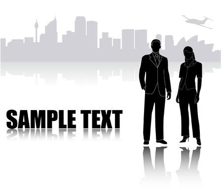 business template - vector Vector