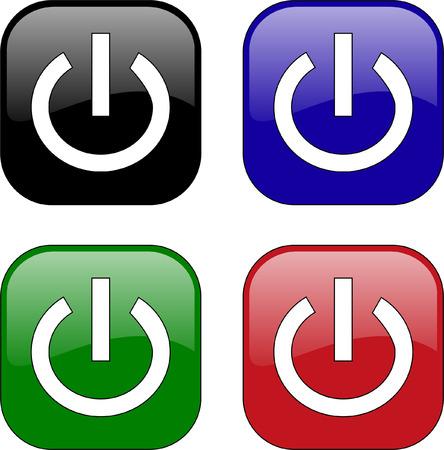 Lichtschalter clipart  Schalter On Off Lizenzfreie Vektorgrafiken Kaufen: 123RF