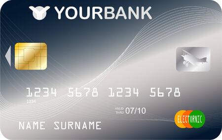 credit card - vector Stock Vector - 5050427