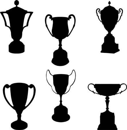 trophies collection - vector Vector