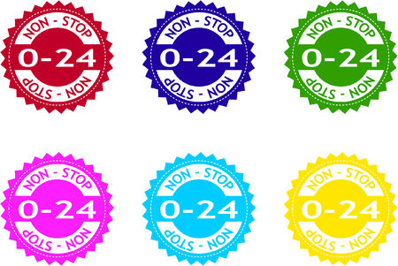 promotional  stickers - vector Stock Vector - 5061369