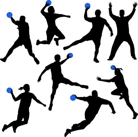 handball - vector Illustration