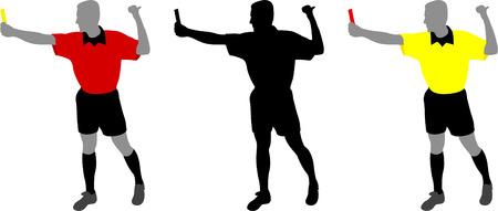 sideline: �rbitro - vector Vectores