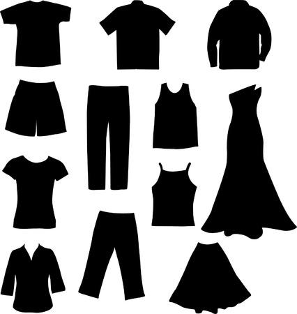 kleding - vector