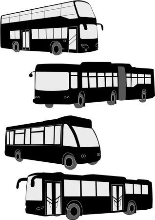 Busse collection - vector Standard-Bild - 5415658