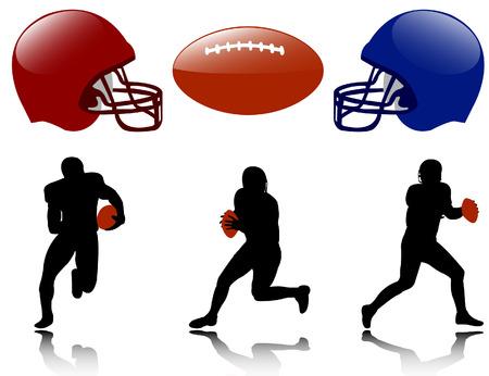 american football  - vector