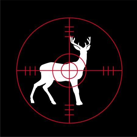targets: hunting season - vector