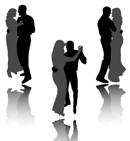 dance couples Vector