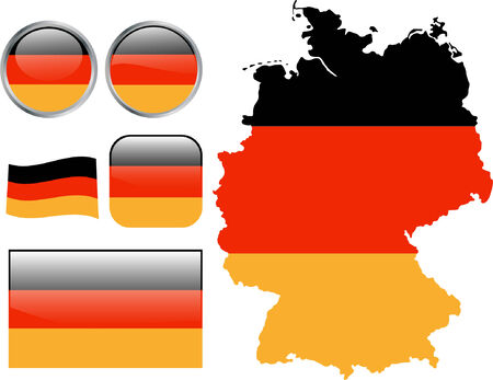 site map: Germany flag buttons.