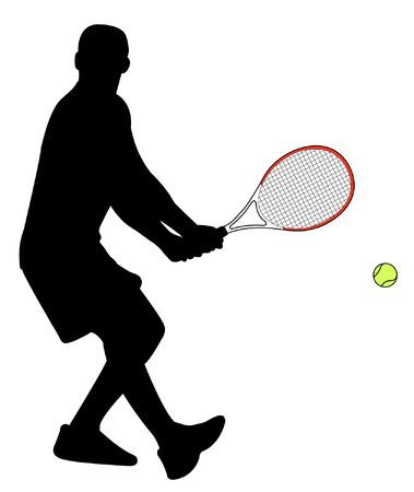 backhand: tenista.