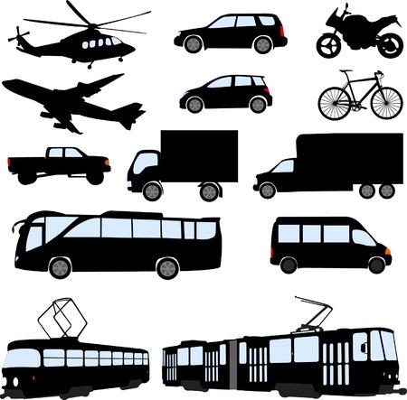 tramway: trasporto - vector Vettoriali