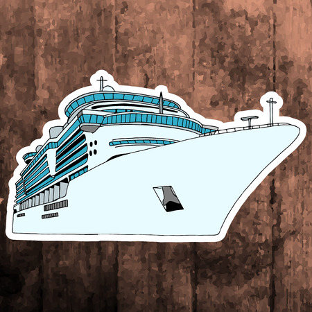 andy warhol: Pop art sticker. Hand drawing retro airplane.Vector illustration