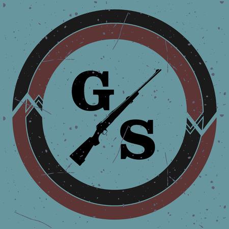 logotypes: Gun shop logotypes and badges
