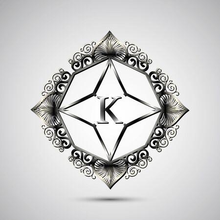luxo: Carta de luxo. design geom
