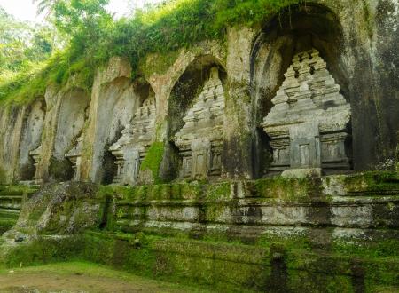 godlike: Caves in Gunung Kawi, near Ubud, Bali