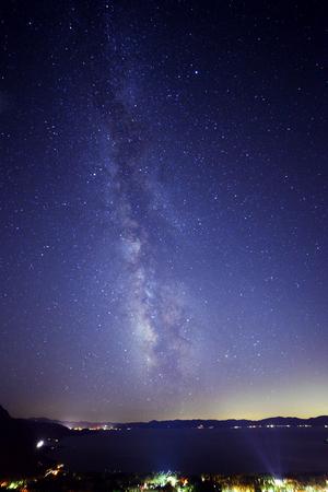 Clear Nights of Lake Tahoe North
