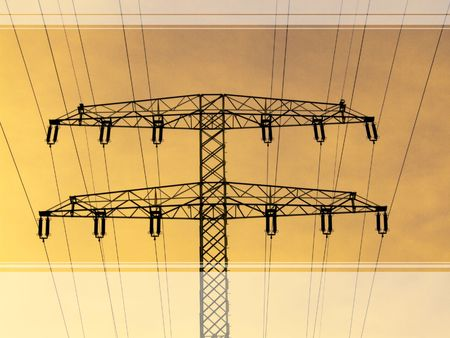 industrie: Power supply Stock Photo