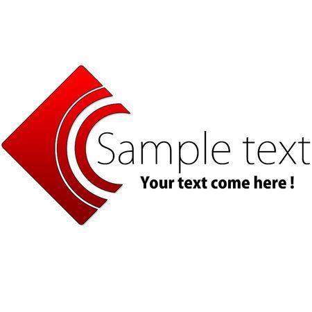 a logo for a small company Standard-Bild