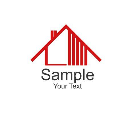 Ein Logo für eine kleine Firma Standard-Bild - 5867608