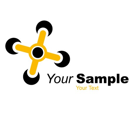 a small logo for a small company Standard-Bild