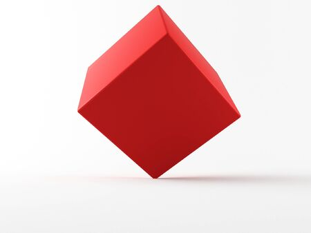 nexus: a 3d cube on a white background
