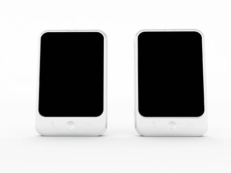 a cellphone on a white Stock Photo - 8115895
