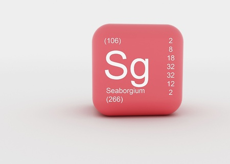 a singel symbol, for a chemical material  photo