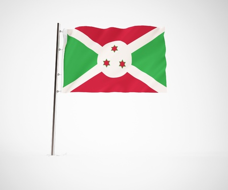 a 3d maded flag  of a country Stock Photo - 10230012