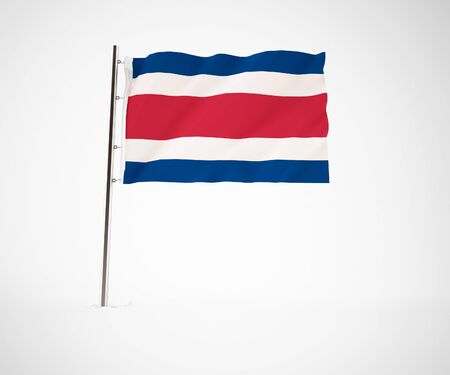a 3d maded flag  of a country Stock Photo - 10229969