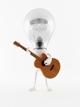 A 3d Bulb photo