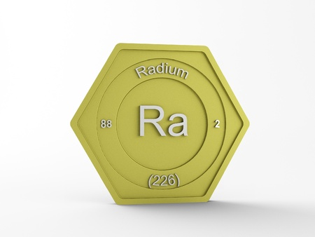 radium: chemical symbol