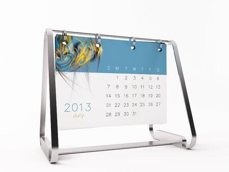 a calendar for 2013 photo
