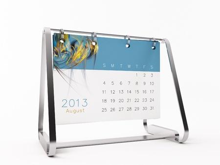 Ein Kalender für 2013 Standard-Bild - 14752817